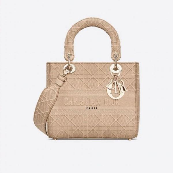 Dior D Lite Çanta Kadın Bej