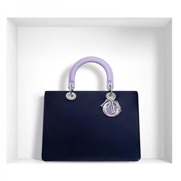Dior Diorissimo Çanta Lila   Lacivert Kadın