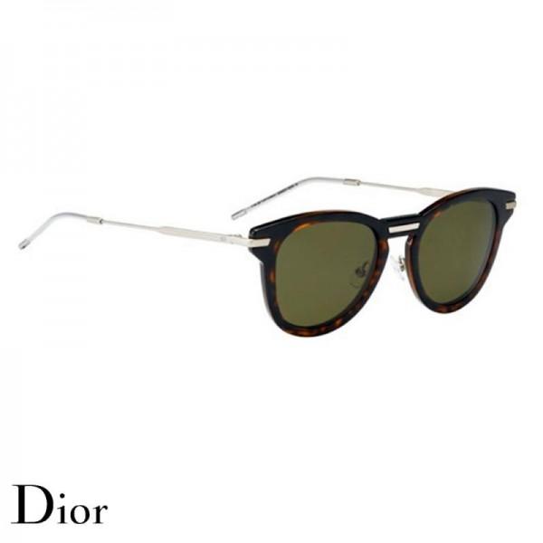Dior Homme Gözlük Brown Silver Güneş Gözlüğü