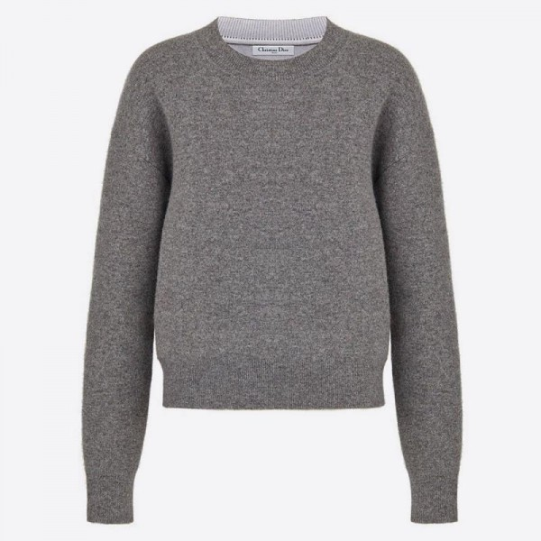 Dior J Adior 8 Sweatshirt Kadın Gri