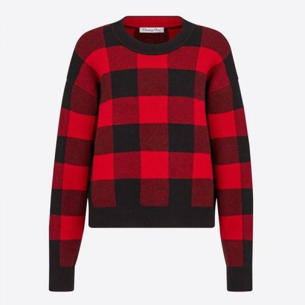 Dior J Adior 8 Sweatshirt Kadın Kırmızı