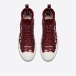 Dior J Adior Ayakkabı Kadın Bordo