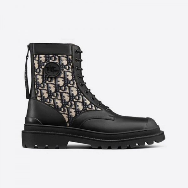 Dior Jacquard Ayakkabı Siyah