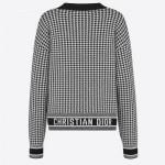 Dior Jacquard Sweatshirt Kadın Beyaz