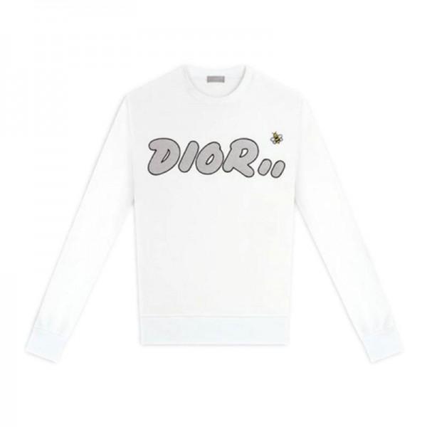 Dior Kaws Sweatshirt Kadın Beyaz