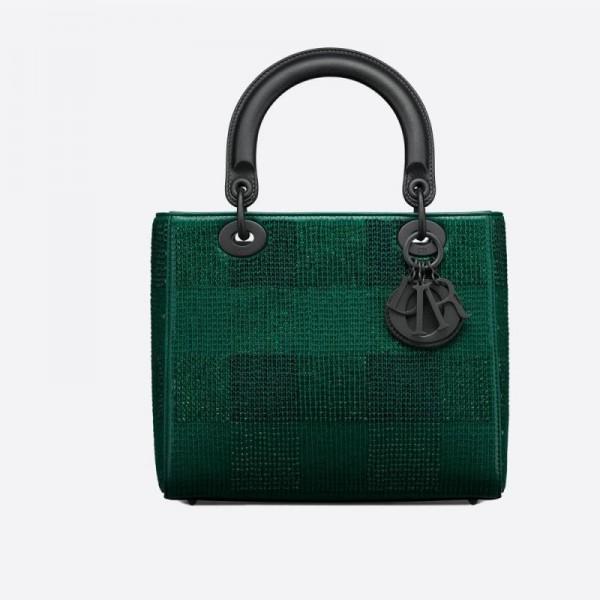 Dior Lady Çanta Kadın Yeşil