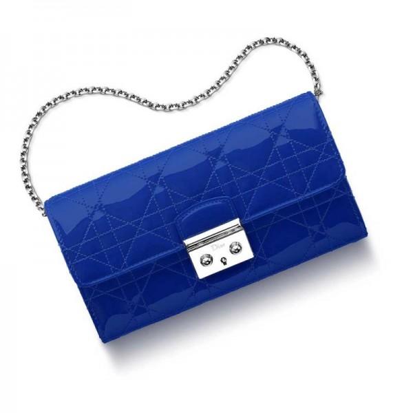 Dior Miss Dior Rendez Vous Cüzdan Parlak Lacivert