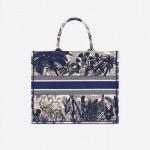 Dior Palm Tree Çanta Kadın Mavi