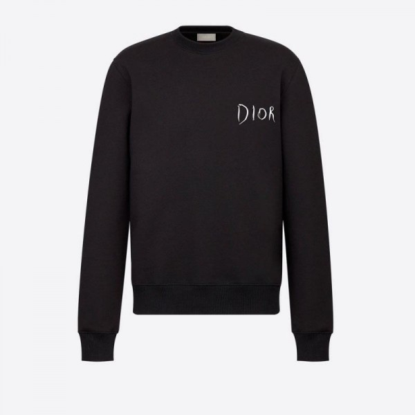 Dior Raymond Sweatshirt Erkek Siyah