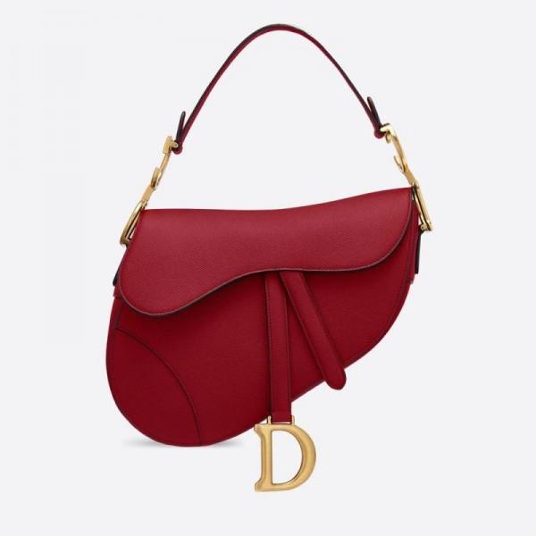 Dior Saadle Çanta Kadın Kırmızı