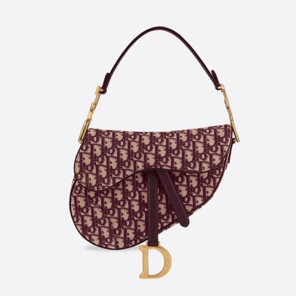Dior Saadle Çanta Kadın Mor