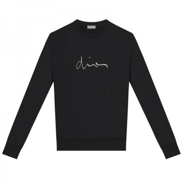 Dior Signature Sweatshirt Kadın Siyah