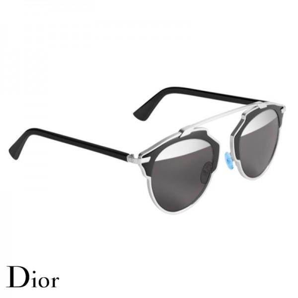 Dior So Real Gözlük Black Silver Güneş Gözlüğü