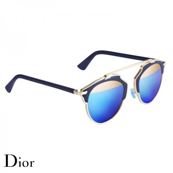 Dior So Real Gözlük Blue Gold Güneş Gözlüğü