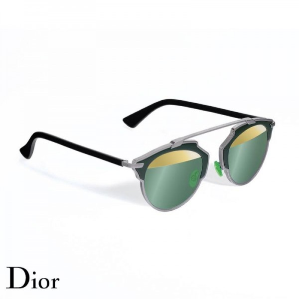 Dior So Real Gözlük Kaki Gold Güneş Gözlüğü