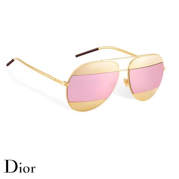 Dior Split Gözlük Pink Güneş Gözlüğü