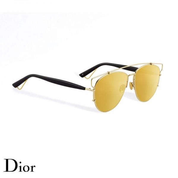 Dior Technologic Gözlük Gold Tone Güneş Gözlüğü