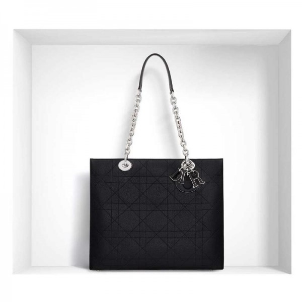 Dior Ultradior Grained Çanta Siyah Kadın