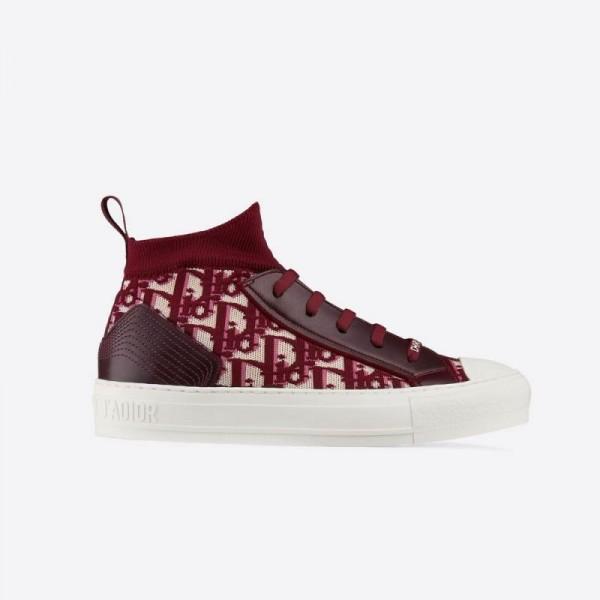 Dior Walkn Ayakkabı Kadın Bordo