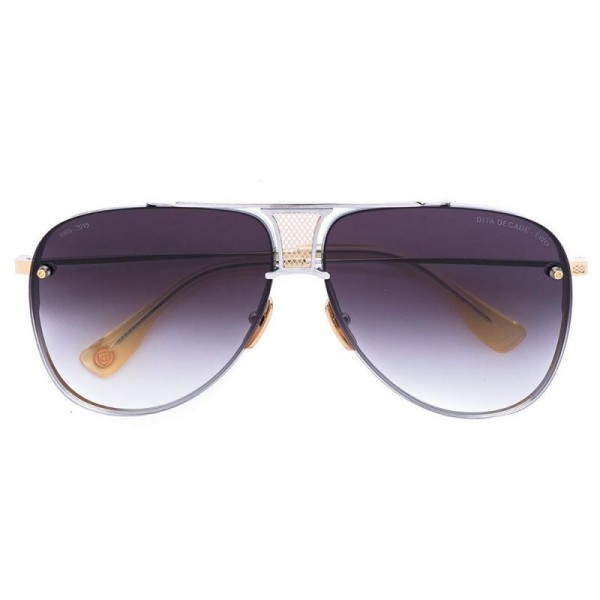 Dita Aviator Gözlük Gümüş Güneş Gözlüğü