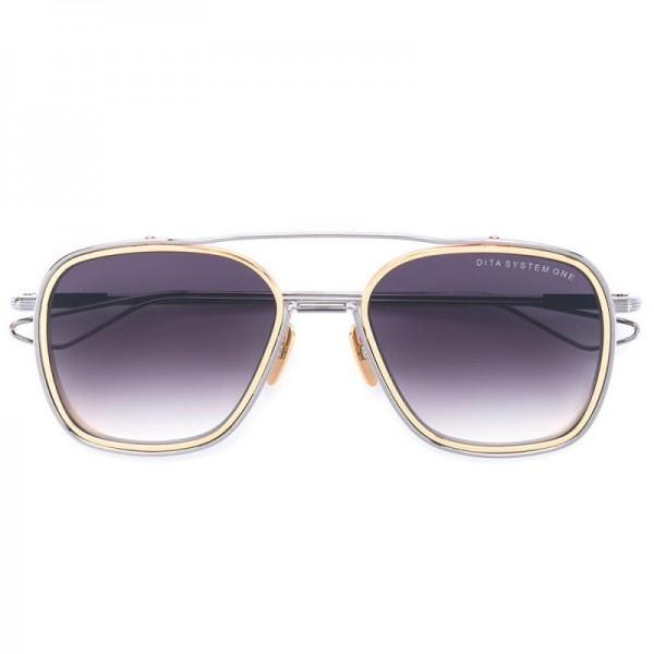 Dita Oversized Gözlük Gri Güneş Gözlüğü