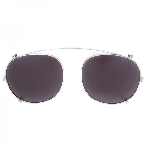 Dita Round Gözlük Gümüş Güneş Gözlüğü
