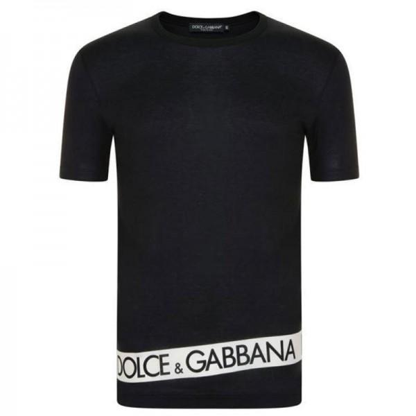 Dolce Gabbana Band Tişört Siyah Erkek