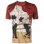 Dolce Gabbana Jazz Tişört Kırmızı Erkek