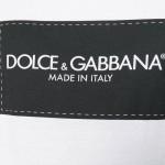 Dolce Gabbana Logo Tişört Beyaz Erkek