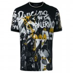 Dolce Gabbana Musical Tişört Siyah Erkek