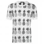 Dolce Gabbana Pineapple Tişört Beyaz Erkek