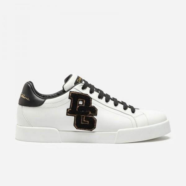 Dolce Gabbana Portofino Ayakkabı Erkek Beyaz