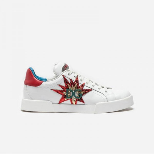 Dolce Gabbana Sneakers Ayakkabı Beyaz Kadın