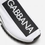 Dolce Gabbana Sorrento Ayakkabı Erkek Beyaz