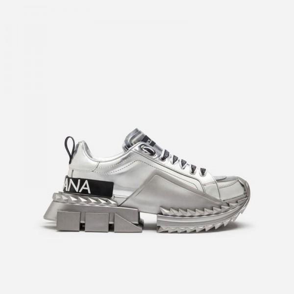 Dolce Gabbana Super Queen Ayakkabı Kadın Gümüş