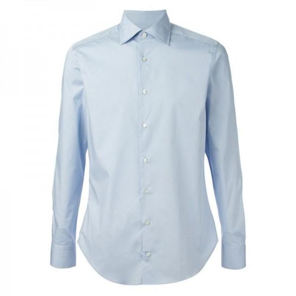 Etro Pointed Gömlek Mavi Erkek