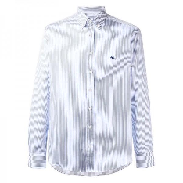 Etro Striped Gömlek Beyaz Erkek