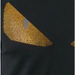 Fendi Bug Print Tişört Siyah Erkek