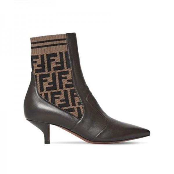 Fendi Ff Ayakkabı Siyah Kadın