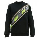 Fendi Logo Sweatshirt Erkek Siyah