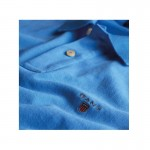 Gant Solid Tişört Blue Erkek