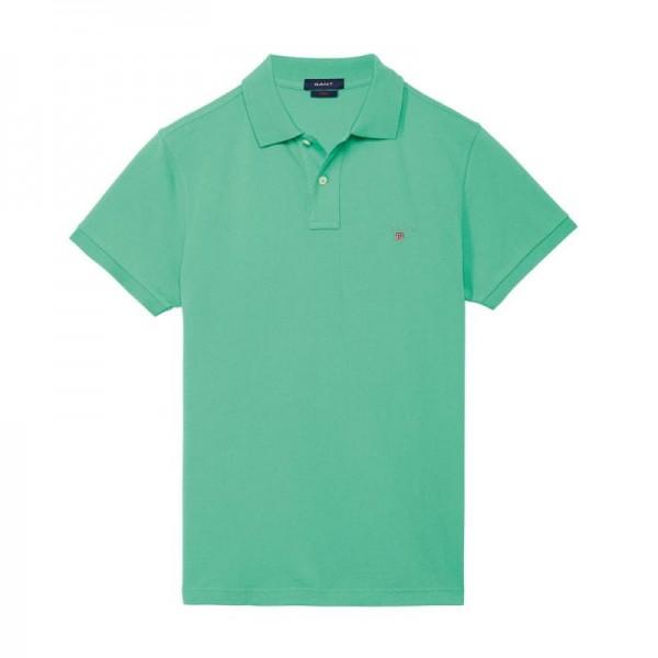 Gant Solid Tişört Green Erkek