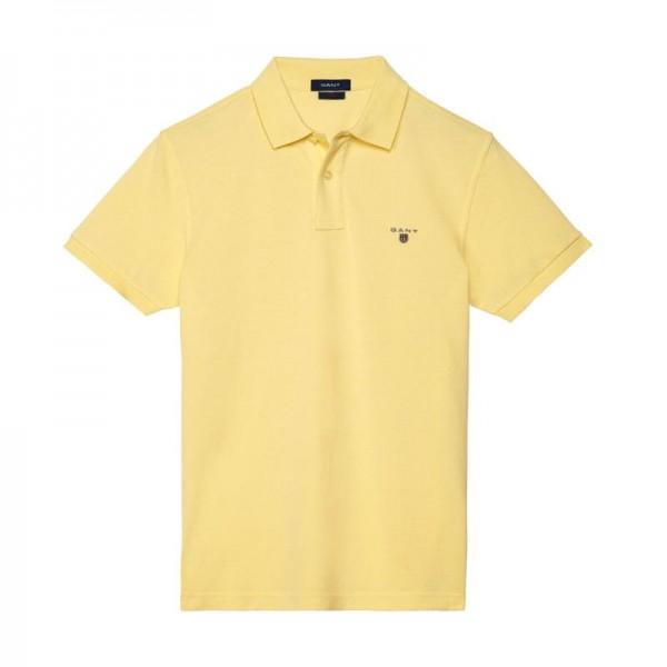 Gant Solid Tişört Lemon Erkek