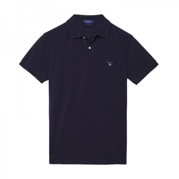 Gant Solid Tişört Marine Erkek