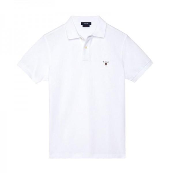 Gant Solid Tişört White Erkek