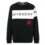 Givenchy Block Sweatshirt Siyah Erkek