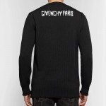 Givenchy Jacquard Sweatshirt Erkek Siyah