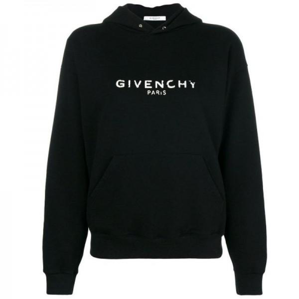 Givenchy Logo Sweatshirt Siyah Kadın