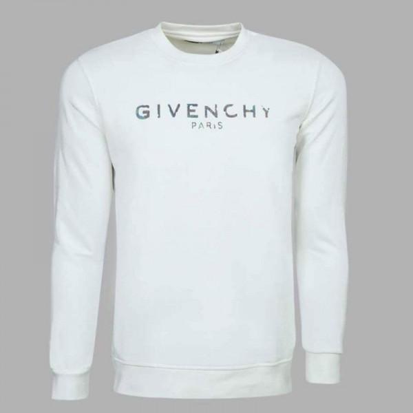 Givenchy Paris Sweatshirt Erkek Beyaz