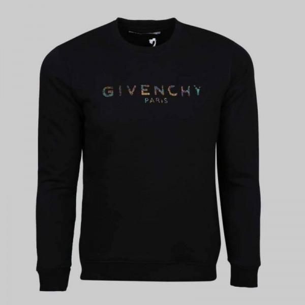 Givenchy Paris Sweatshirt Erkek Siyah
